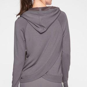 Athleta crisscross hoodie